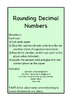 Card Sort Rounding Decimal Numbers