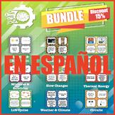 Card Sort: Science Bundle in SPANISH! (5th grade Science STAAR Review)