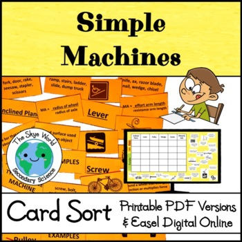 Card Sort - Simple Machines