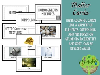 Card Sort: Types of Matter