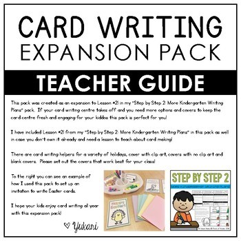 Card Writing Expansion Pack