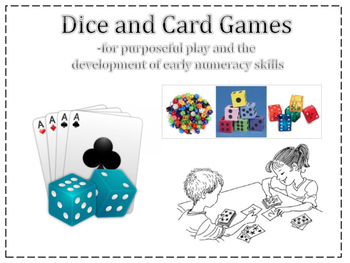 Card and Dice games for primary Number Sense