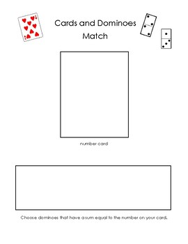 Card and Domino Match