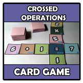 Card game - Crossed Operations - Basic Arithmetic