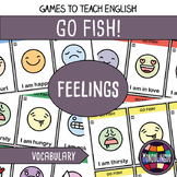 Card game to teach English/ESL: Go Fish about feelings