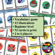 Card game to teach English/ESL: Go Fish about winter sports