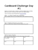 Cardboard Challenge - Project-Based Learning with the Engi