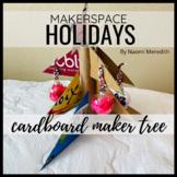 Cardboard Christmas Tree DIY
