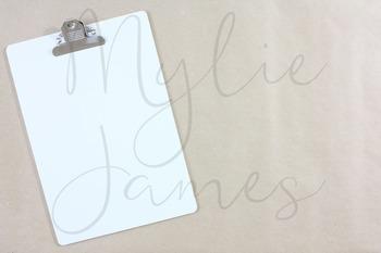 Cardboard Clipboard Styled Images for Teacherpreneurs