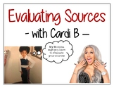 Cardi B Source Evaluation Posters