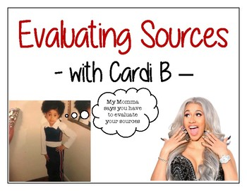 Cardi B Worksheets Teaching Resources Teachers Pay Teachers