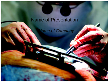 Cardiac Surgery PPT Template