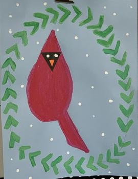 Cardinal Directed Drawing