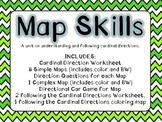 Cardinal Direction Map Skills
