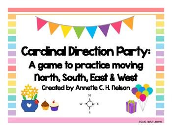 Cardinal Direction Party Time Game