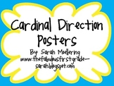 Cardinal Direction Posters Freebie