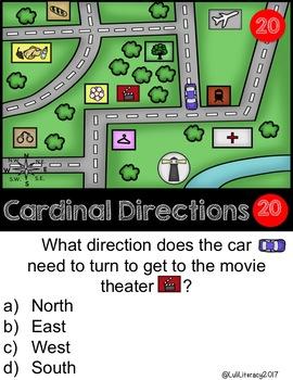 Cardinal Direction Scoot