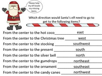 Cardinal Directions - Christmas