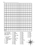 Cardinal Directions Coloring Grid
