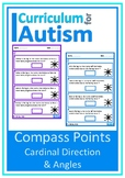 Cardinal Directions Compass Points Angles Autism Special Education