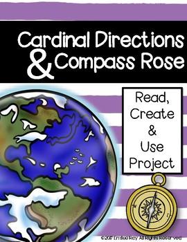 Cardinal Directions & Compass Rose Set
