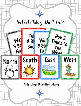 Map Skills- Cardinal Directions Game