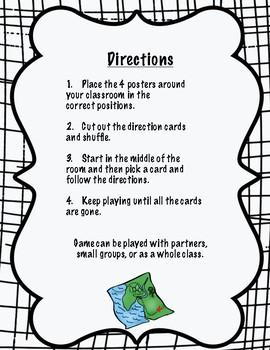 Map Skills- Cardinal Directions Game