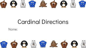 Cardinal Directions: Google Classroom Activity