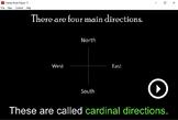 Cardinal Directions - Interactive