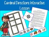 Cardinal Directions Map Activity