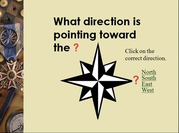 Cardinal Directions PowerPoint