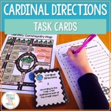 Map Skills and Cardinal Directions Task Cards