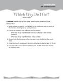 Cardinal Directions (Ten-Minute Activities)