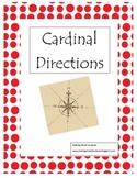 Cardinal Directions Treasure Hunt Game & Printable