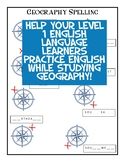 Cardinal Directions and Hemispheres for Level 1 ELLs