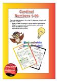 Cardinal Numbers 1-90