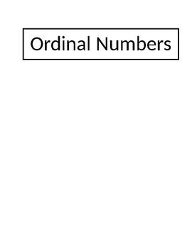Cardinal Numbers 11-20