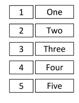 Cardinal Numbers cards