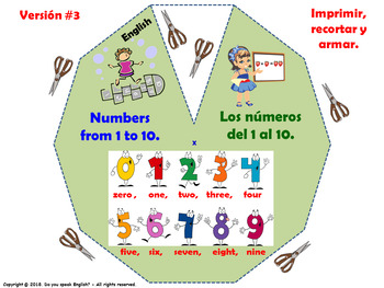 Cardinal Numbers from 0 to 10