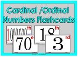 Cardinal / Ordinal Number Flashcards