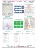 Cardinal & Ordinal Numbers 4 Worksheet-2 Game-1 Exam Bundle