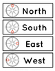 Cardinal and Intermediate Directions Classroom Labels