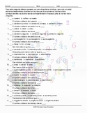 Cardinal and Ordinal Numbers Spelling Challenge Spanish Worksheet