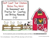 Counting & Numeral Writing Assessment
