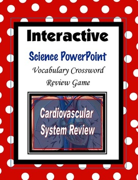 Cardiovascular System Crossword Review PowerPoint