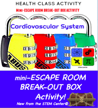 Cardiovascular System Escape Room - Break Out Box