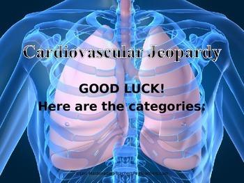 Cardiovascular System: Jeopardy Game