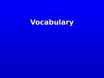 Cardiovascular System: Jeopardy Style Game