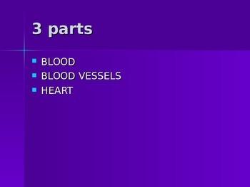 Cardiovascular system ppt