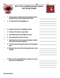 Cardovascular System Study Guide and answer key